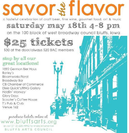 Savor The Flavor May 18th, 2013 4-8 PM